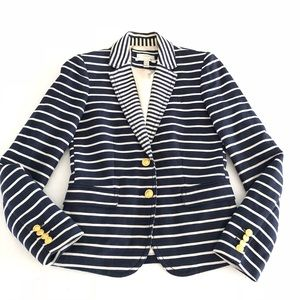 J.Crew The Classic Schoolboy Blazer Mixed Stripe